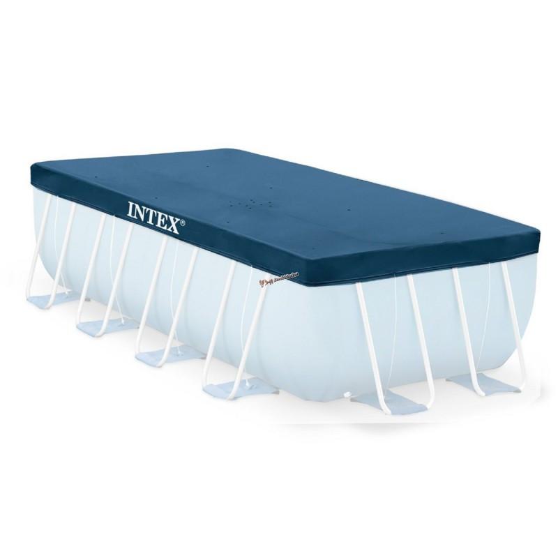 Тент Intex 28037 для прямоугольного каркасного бассейна 400х200см