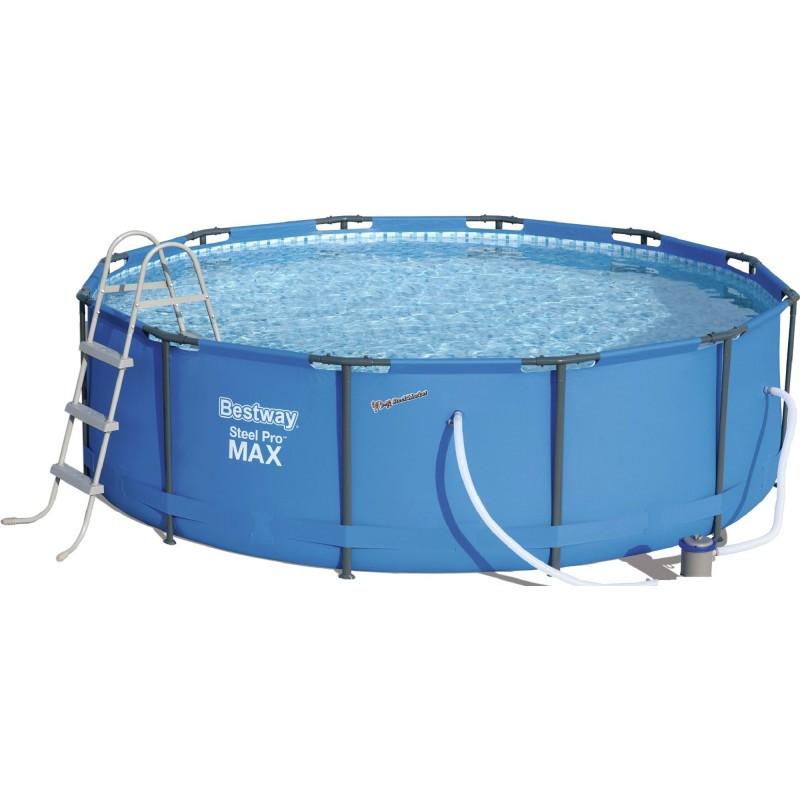 Каркасный бассейн BestWay 56418 (56260) 366х100 см с картриджным фильтром
