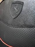 Рюкзак  Puma Ferrari  мужской кожаный городской черный, фото 5