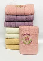 Банные полотенца с бантиком
