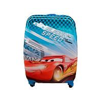 Чемодан детский пластиковый Josef Otten Тачка Маквин 45 см 4 колеса Разноцветный (200508)