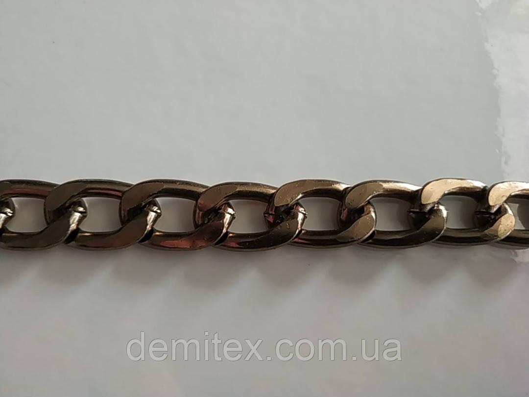 Цепочка алюминиевая антик 3.6х23х14.6 мм.