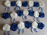 Роза искусственная (головки)