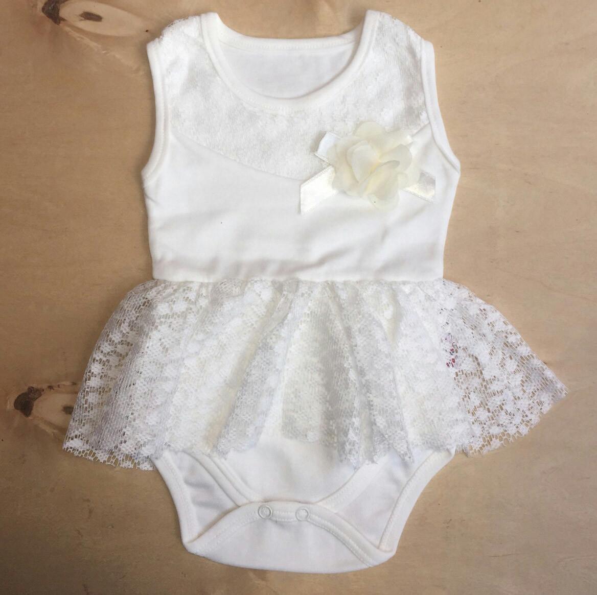 29297b637c8b Нарядный боди с юбкой для новорожденных на девочек 0-6 месяцев —  Интернет-магазин ...