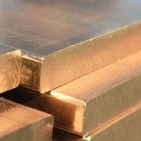 Плита латунная, лист 10х600х1500 мм Л63 ЛС59 мягкая,твёрдая