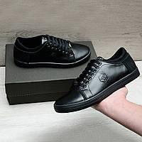 Мужская обувь на весну в стиле Philipp Plein, фото 1