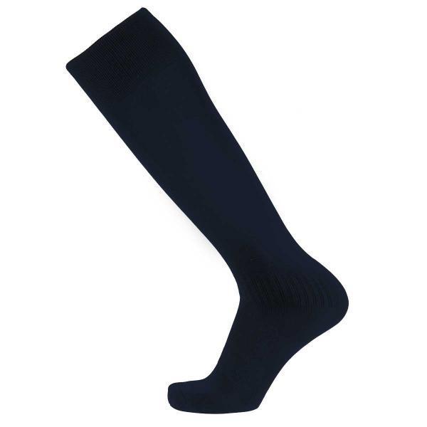 Гетры футбольные Europaw C-501 подростковые темно-синие (р.35-40), фото 1