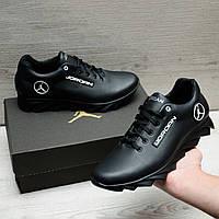Кожаные кроссовки в стиле Jordan, фото 1