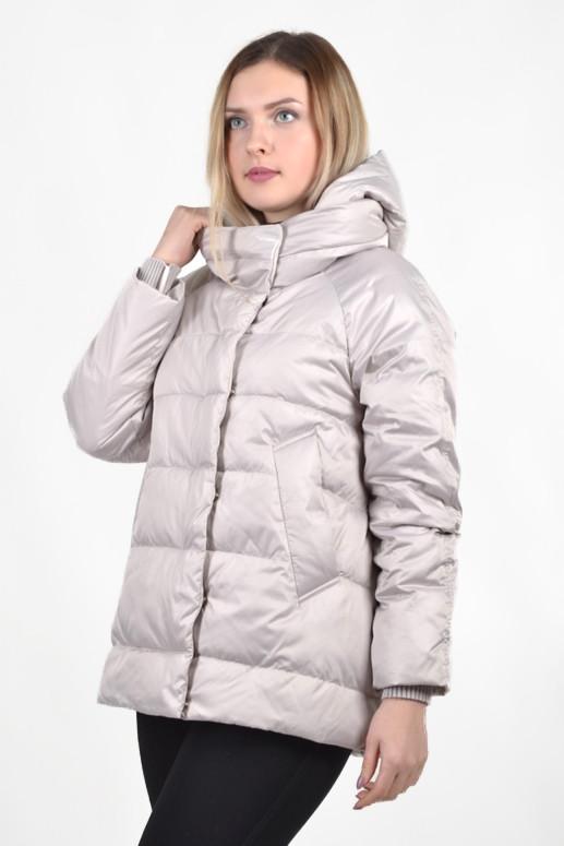 Женская демисезонная куртка BatterFlei 1901 - молоко - Новая коллекция Весна-Осень 2019