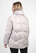 Женская демисезонная куртка BatterFlei 1901 - молоко - Новая коллекция Весна-Осень 2019 , фото 3