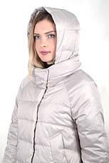 Женская демисезонная куртка BatterFlei 1901 - молоко - Новая коллекция Весна-Осень 2019 , фото 2