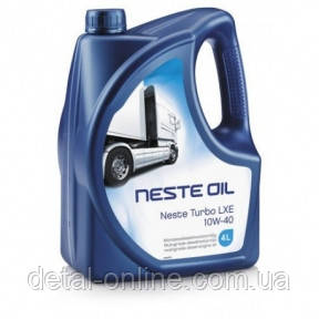 Neste  TurboLXE10W-40/4 моторное  масло 4 литра, фото 2