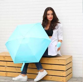 Мини зонт капсула & компактный зонтик в футляре