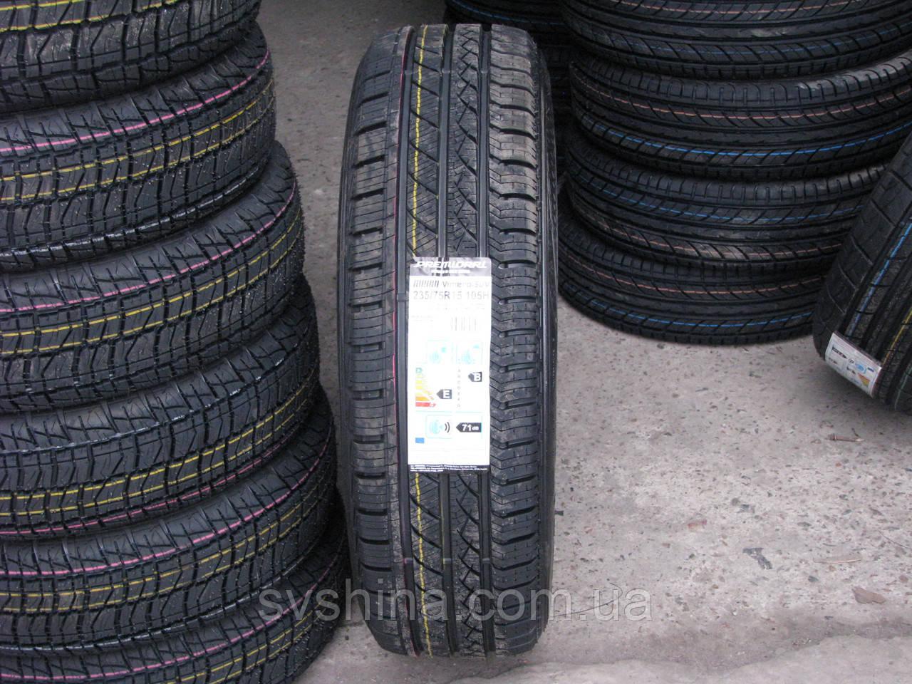 Шини 235/75R15 PREMIORRI Vimero-SUV, 105H всесезонні