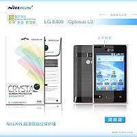 Защитная пленка Nillkin для LG Optimus L3 E400 глянцевая