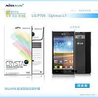 Защитная пленка Nillkin для LG Optimus L7 P700/P705 глянцевая, фото 1