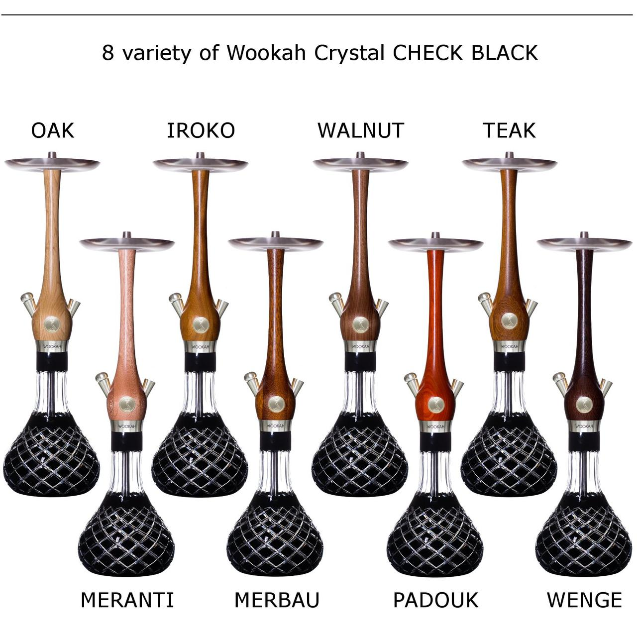 Кальян Wookah Cristal CHECK BLACK