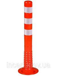 гибкий столбик для ограждения дороги и парковки
