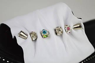 Шлепанцы белые женские Evromoda 10430, фото 3