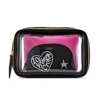 Набор подарочных косметичек Victoria Secret 3в1. Оригинал!
