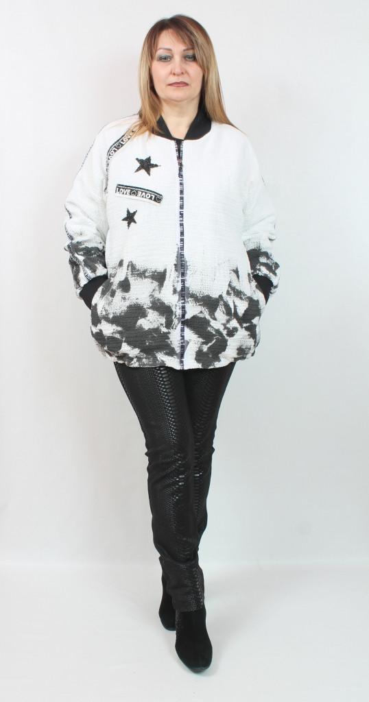 Легкая женская куртка Турция, больших размеров 50-66