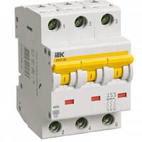 Автоматический выключатель ВА47-60 C 3P 6А 6кА IEK