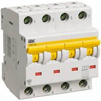 Автоматический выключатель ВА47-60 C 4P 10А 6кА IEK