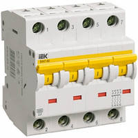 Автоматический выключатель ВА47-60 C 4P 25А 6кА IEK