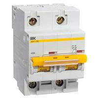 Автоматический выключатель ВА47-100 D 2P 63А 10кА IEK
