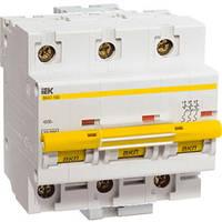 Автоматический выключатель ВА47-100 D 3P 100А 10кА IEK