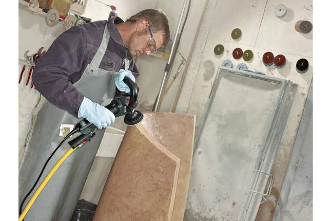 PWE 11-100 Машина для вологого полірування 1100Вт, картонна коробка, фото 2