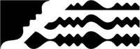 JF625-227,28 Фигурные ножницы-2шт. Чарівна Мить