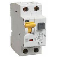 Дифференциальный автоматический выключатель АВДТ32 10мA B 16А 6кА IEK