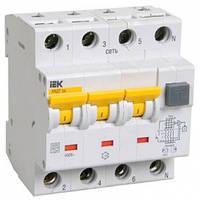 Дифференциальный автоматический выключатель АВДТ34 100мА C 25А 6кА IEK