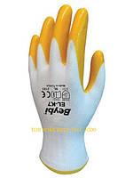 Перчатки рабочие нитриловые EL-k7 (тм Beybi)