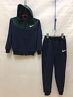 """Спортивный костюм детский для мальчика, """"Nike"""", 2-6 лет, темно-синий с темно-зелёным"""
