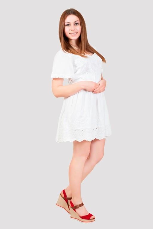 Сукня з бавовни