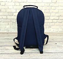 b6d62a05cc6b Стильный рюкзак Levi`s, левис, левайс. Повседневный, городской. Синий с