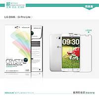 Защитная пленка Nillkin для  LG  G PRO Lite D686 глянцевая