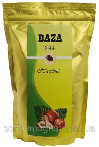 Кава в зернах ароматизований Baza Hazelnut (Лісовий горіх) 500 г