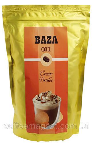 Кофе в зернах ароматизированный Baza Creme brulee (Крем-брюле) 500 г