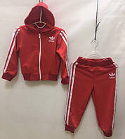 """Спортивный костюм детский для мальчика, """"Adidas"""", 1-3 года, тёмно красный"""