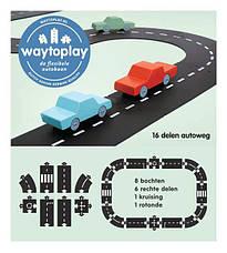 Гибкая автомобильная трасса Автострада (16 дорожных частей, длина 258 см) WAYTOPLAY, фото 3