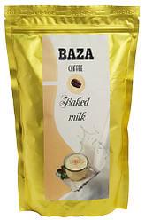 Кофе в зернах ароматизированный Baza Baked milk (Топленое молоко) 500 г