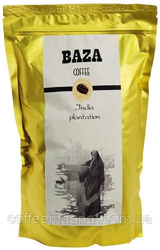 Натуральный зерновой кофе  Индия Плантейшн (арабика) ТМ Baza 500 г