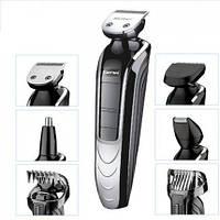 Машинка триммер для стрижки волос и бороды Gemei GM 582