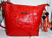 Женская Сумочка SHENGDAINI сумка кож.зам через плечо. В расцветках , фото 1