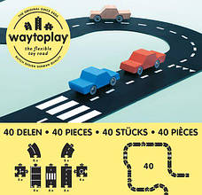 Гибкая автомобильная трасса Королевская дорога (40 дорожных частей, длина 648 см) WAYTOPLAY, фото 3