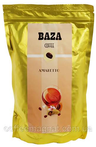Кофе в зернах ароматизированный Baza Amaretto (Амаретто) 500 г