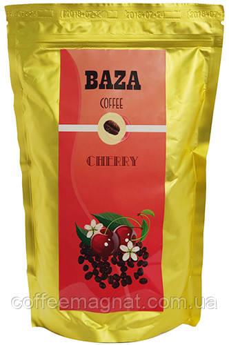 Кофе в зернах ароматизированный Baza Cherry (Вишня) 500 г